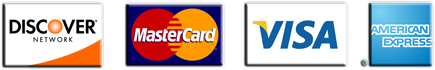 Accepted credit cards for law services
